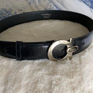 Ferragamo Leather Belt AUTHENTIC Guaranteed